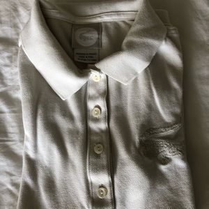 Lacoste Women's Pique Polo Shirt 4 buttons